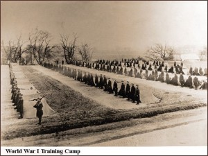 WWI Training Camp