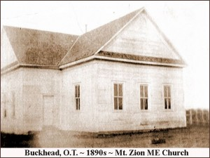 Buckhead - Mt. Zion ME Church, 1890s