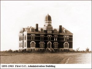Norman - First OU Administration Building, 1893-1903